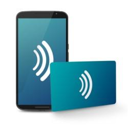 Tarjetas NFC NTAG216 (VCard) impresas 1 cara