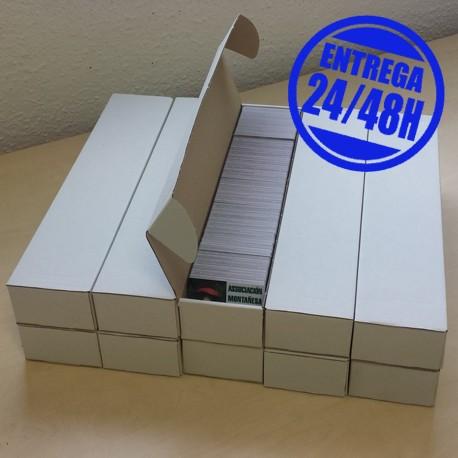 5000 Tarjetas plásticas pvc impresas