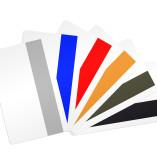 tarjeta de banda magnetica de colores