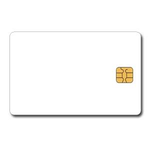 Tarjetas SLE4442 y SLE5542 con chip de contacto memoria