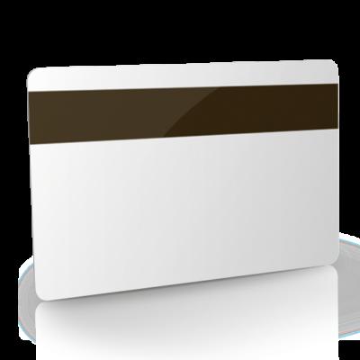 Tarjeta de pvc neutra y tarjetas banda magnética blancas