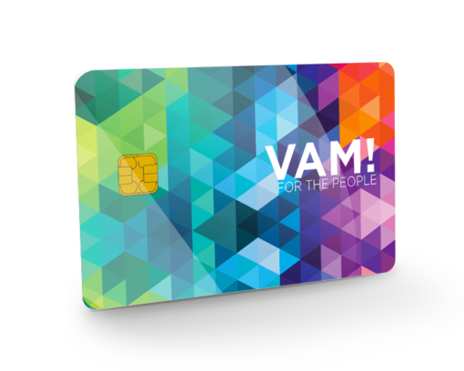 tarjeta pvc con chip criptográfico