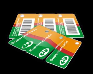 Con DiYCard puedes fabricarte <strong>tarjetas-llavero</strong> tipo visa de gran calidad para fidelizar a tus clientes y tienes 3 llaveros en cada tarjeta. tarjeta-llavero, tarjeta cliente de supermercados y grandes superfícies