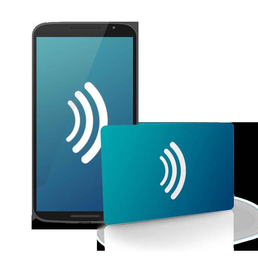2-1- Tarjeta RFID/NFC (sin contacto)
