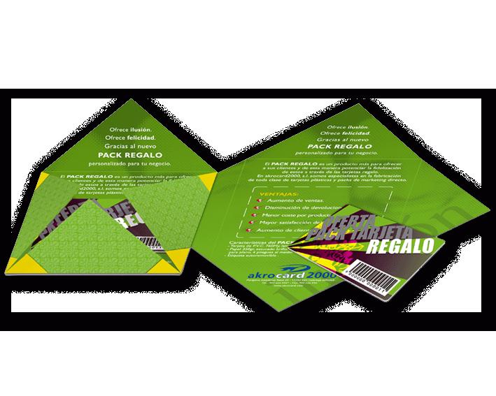 Marketing directo - Tarjeta Regalo, fidelización de clientes