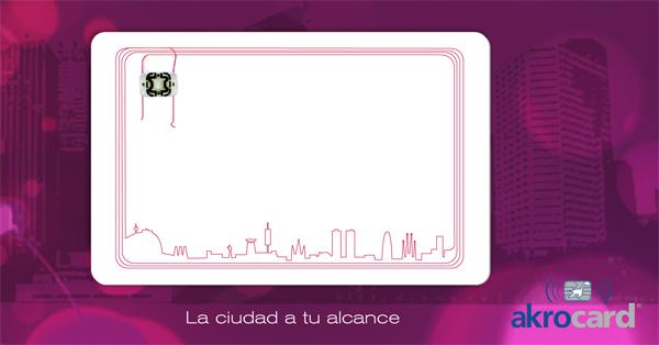 tarjeta RFID, Desfire, Mifare, tarjeta ciudadana, tarjeta transporte publico
