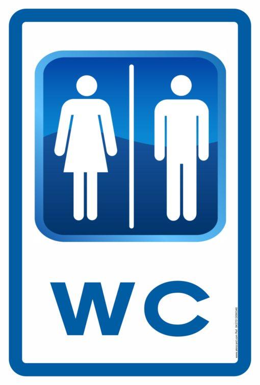 Señales y carteles: WC
