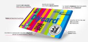 Tarjetas plásticas pvc: Tarjeta Premium akrocard: todas las ventajas para los buenos clientes: descuentos, precio, rapidez en la entrega, máxima calidad