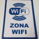 Cartel de Zona Wifi