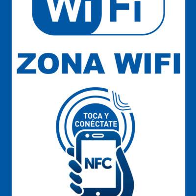 smart wifi poster conexion wifi con nfc sin contraseñas