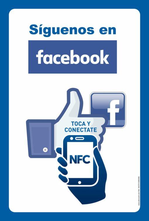 "cartel inteligente NFC ""SIGENOS"" en Facebook SMART POSTER NFC"