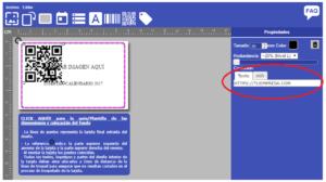 códigos qr en tarjetas plásticas sin coste con DiyCard