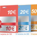 Pack tarjetas regalo: DiyCard de akrocard
