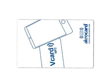 Tarjeta inteligente VCard NFC